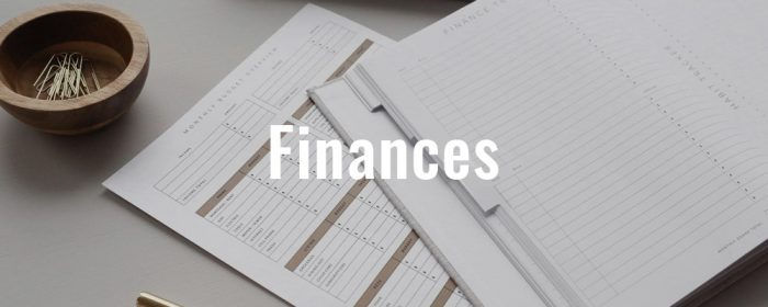 About–Finances