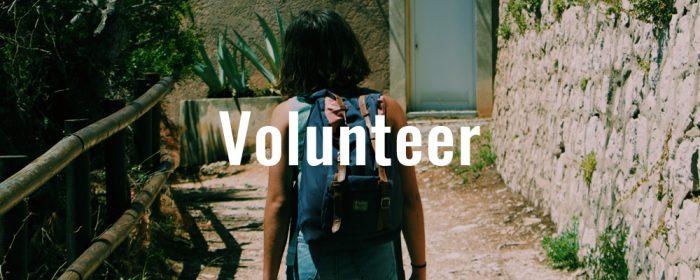 Help–Volunteer