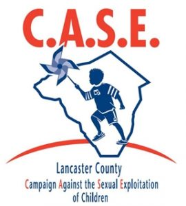 CASE logo capaign against the sexual exploitation of children