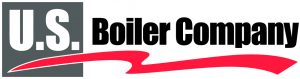 US boiler company logo with thick red line underneath