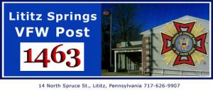 Lititz springs 1463 logo with celtic cross